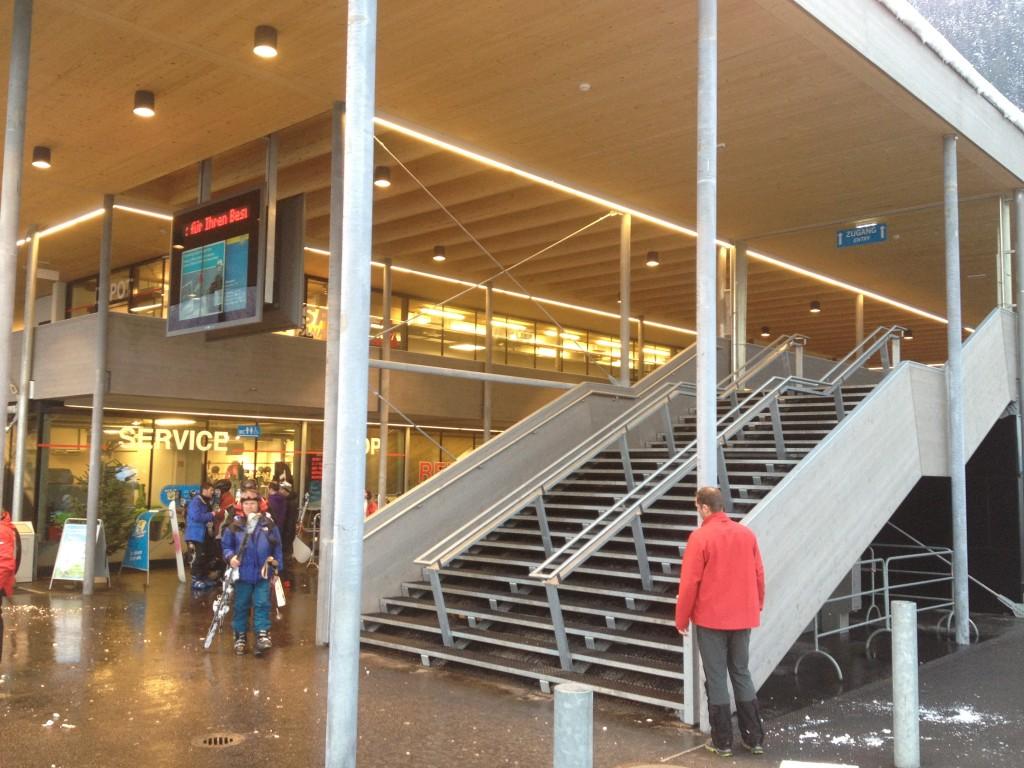 3-läufige Aufgangstreppe Horbergbahn