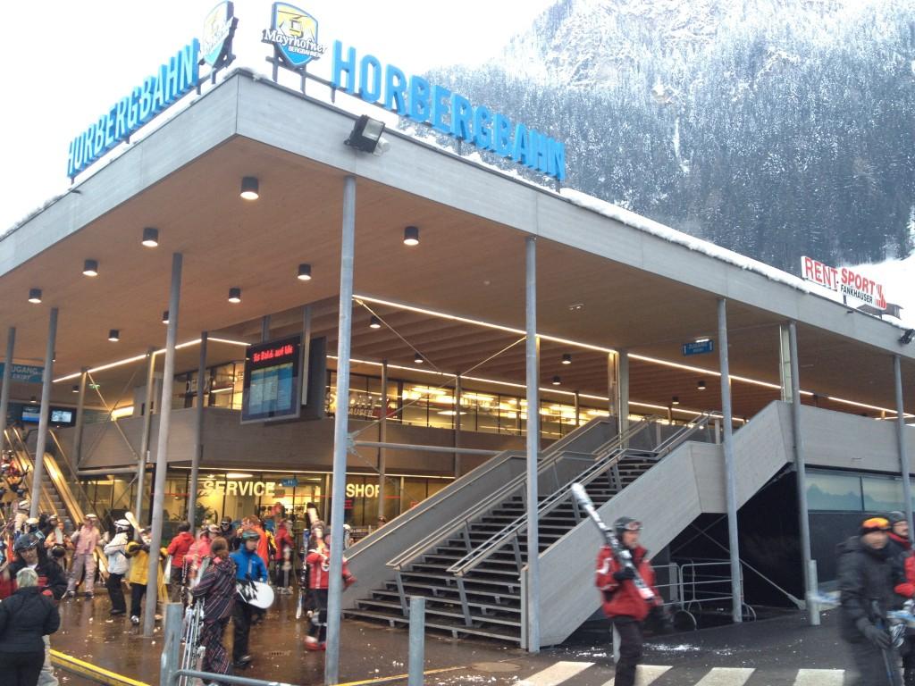 3-läufige Hauptreppe Übersicht - Horbergbahn